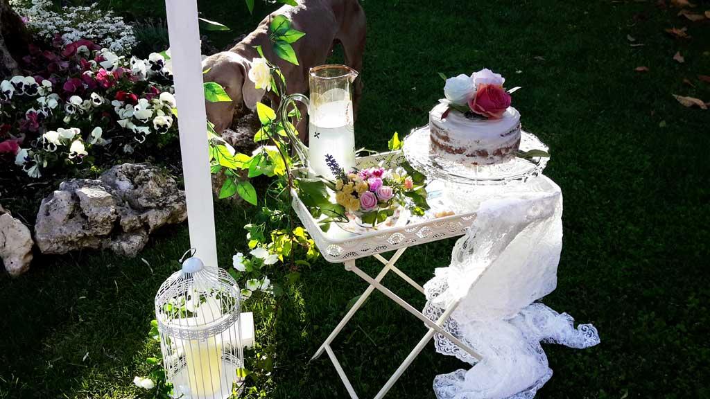 Decoración boda dulce