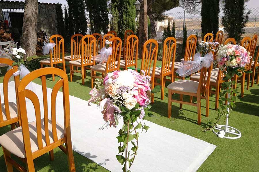 decoracion de boda al aire libre