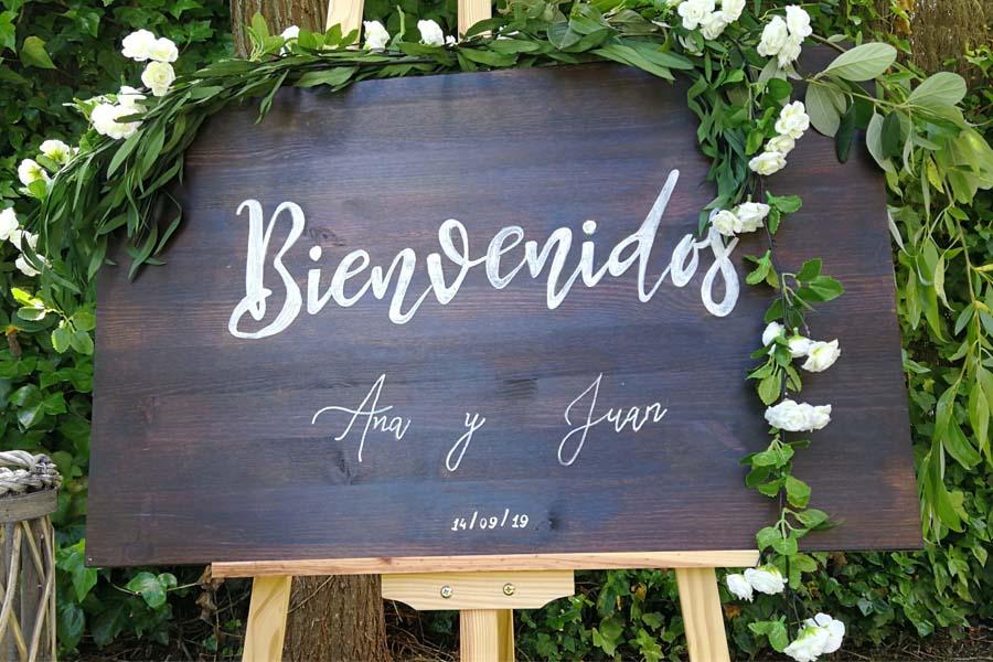 decoracion para boda rincon de bienvenida