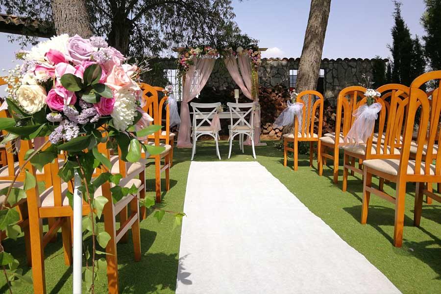 otros rincones boda al aire libre