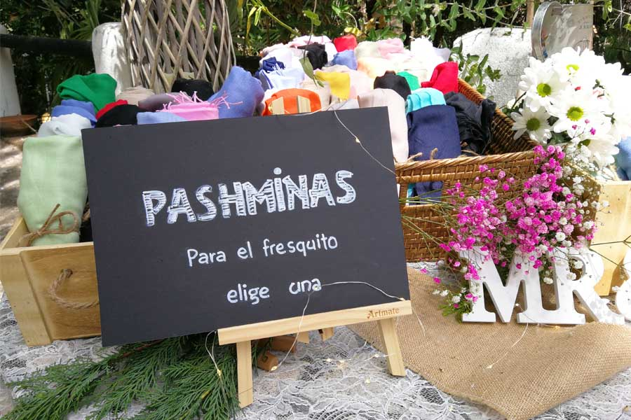 otros rincones pashminas