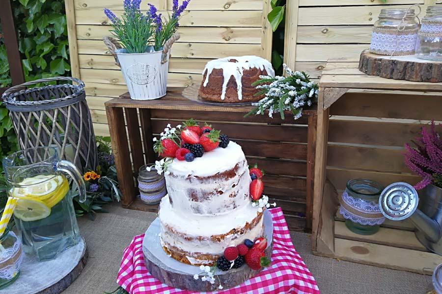 tarta para candy bar boda